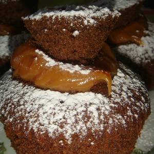 Cupcake de chocolate (receta básica)