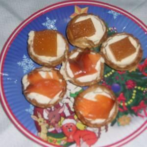 Tartaleta de queso y membrillo