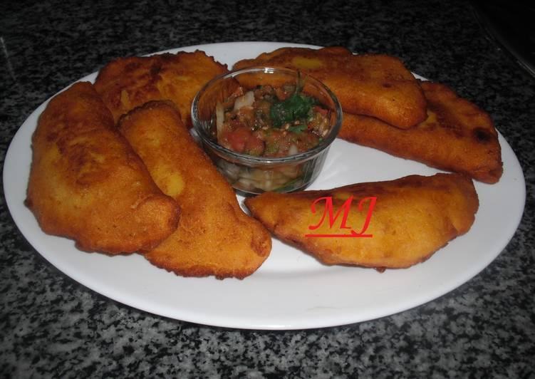 Empanadas de maíz fritas