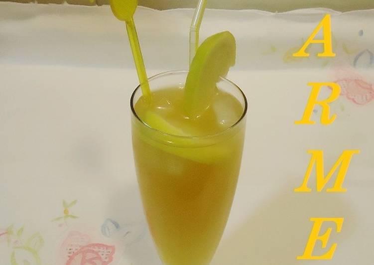 Refresco de té verde y multifrutas