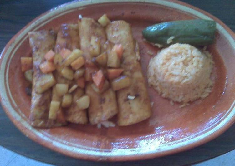Enchiladas laguneras