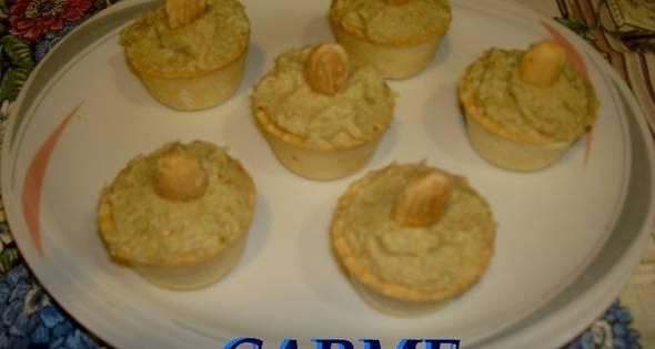 Mini Tartaletas Con Crema De Aguacate
