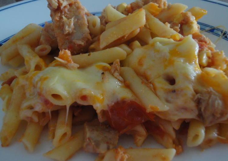 Macarrones Con Atún Y Huevo Receta De Rebe Cookpad