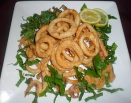 Calamares a la pimienta fritos