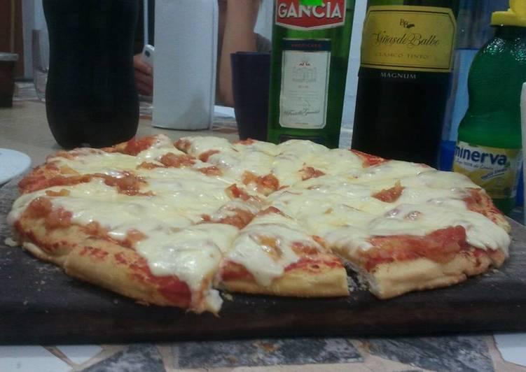 Pizza En Microondas Receta De Graciela Martinez Cookpad