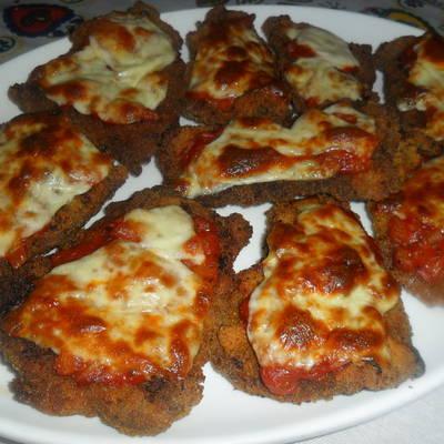 receta de filete de ternera a la milanesa