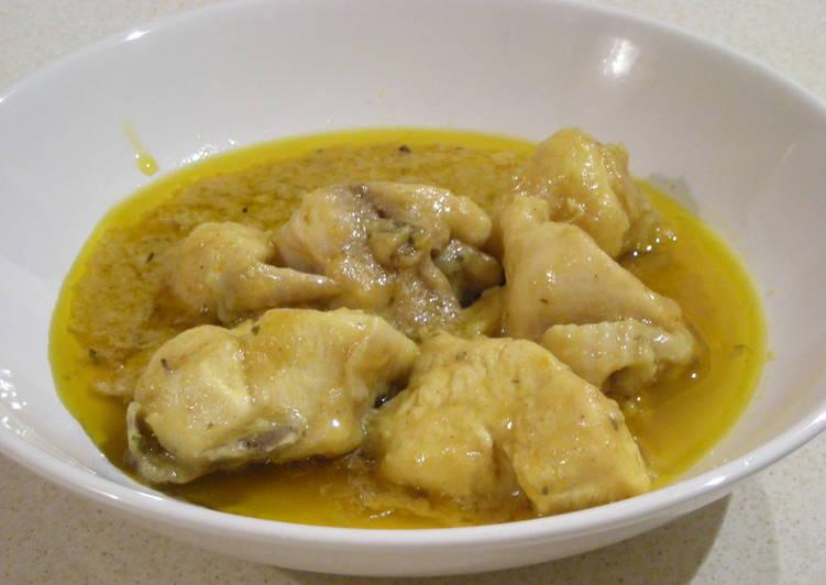 Pollo En Salsa Con Un Toque De Mostaza Al Vino Receta De Ruthywen Cookpad