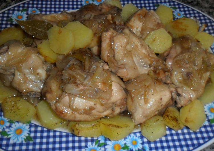 Recetas de cebolla con pollo