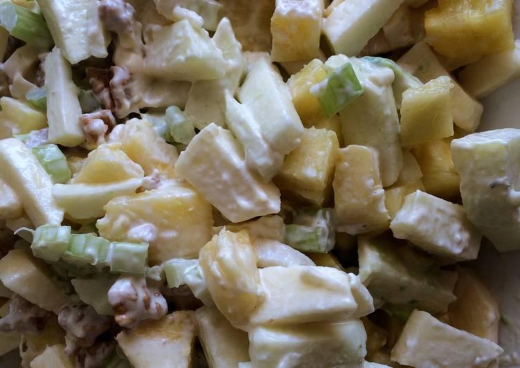 recetas de ensalada waldorf