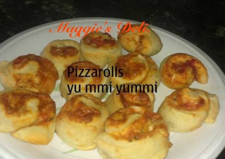 Masa para pizza rolls