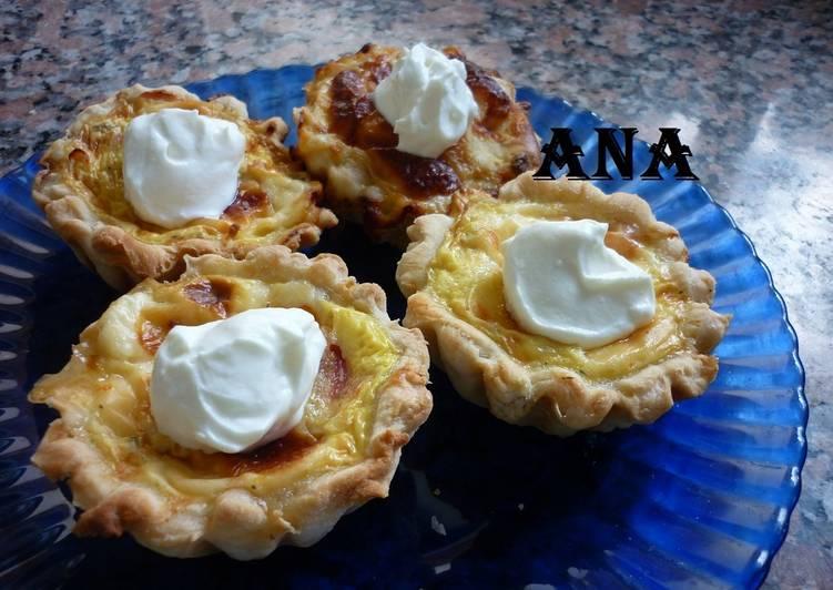 Mini Tartas Caseras Con Sopa Crema De Pollo Receta De Gringa
