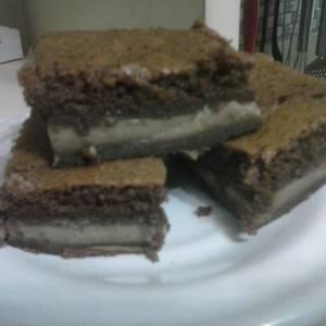 Torta de tres capas chocolate