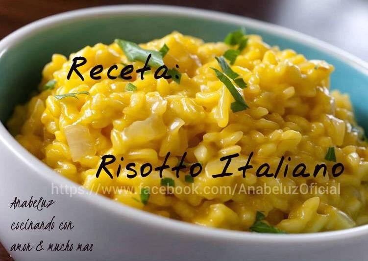 Risotto Italiano Receta De Anabeluz Cookpad