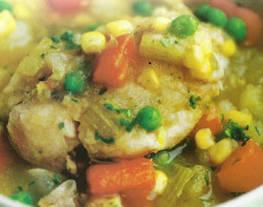 File de frango com vegetais