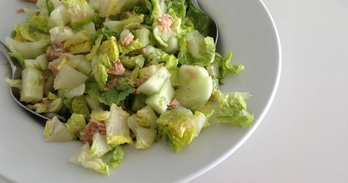 ensaladas para bajar de peso rapido recetas