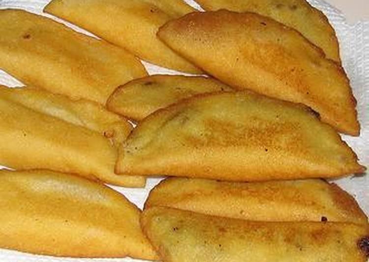 Empanadas de cazón al estilo margariteño (Venezuela)