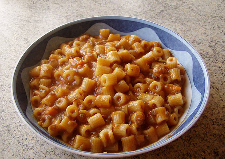 Pasta E Lenticchie O Pasta Con Lentejas Receta De Mariasholes Cookpad