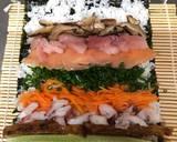 Japanese Big Sushi Roll recipe step 6 photo