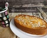 Bolu Tape Almond (Tanpa Pengembang) langkah memasak 9 foto