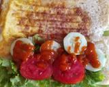 Roti John Ala-ala langkah memasak 3 foto