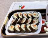 Sushi cơm cuộn bước làm 3 hình