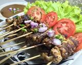 Sate jamur (menu diet) langkah memasak 4 foto