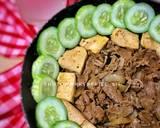 Healthy tofu-beef in pan langkah memasak 5 foto