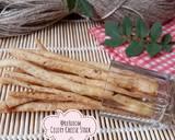 522. Celery Cheese Stick Krispi #SeninSemangat langkah memasak 15 foto