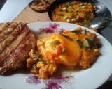 Shaksuka (telur ceplok ala timur tengah) langkah memasak 7 foto