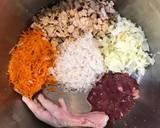 MPASI 7 BulanNasi Tim [Ceker Ayam, Hati Ayam, Tempe, Kol & Wortel] langkah memasak 8 foto