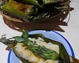 Nasi Bakar Ikan Pari lombok Ijo langkah memasak 6 foto