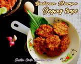 Bakwan Jampe (Jagung Tempe) langkah memasak 5 foto