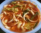 Kimchi langkah memasak 4 foto