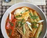 Budae Jjigae langkah memasak 3 foto