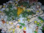 """Currys, mexikói zöldséges """"rizses hús"""" recept lépés 7 foto"""