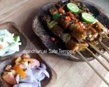 Sate Tempe #rabubaru langkah memasak 14 foto