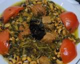 Azerbaijani Ghormeh sabzi or herb stew recipe step 11 photo
