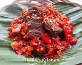 Dendeng Balado Basah Khas Minang langkah memasak 8 foto