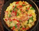 Omelet Spanyol langkah memasak 4 foto