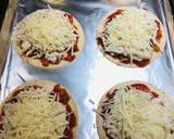 Mini Shredded Salsa Chicken Tortilla Pizzas recipe step 5 photo