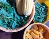 Bubur Manado langkah memasak 2 foto