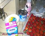 Yoghurt strawberry ice cream langkah memasak 1 foto