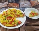Omelet Spanyol langkah memasak 5 foto