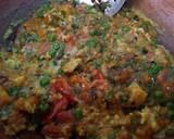 Egg Bhuji with veggies recipe step 4 photo