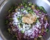 Mix Bhajiya#authors marathon #mum's recipe step 2 photo