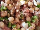 Foto del paso 4 de la receta Ensalada de garbanzos o trampó de garbanzos