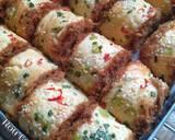 Roti gulung abon langkah memasak 7 foto