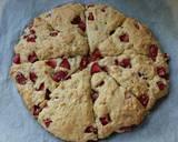 Vickys Strawberry & Cream Scones w Orange Glaze, GF DF EF SF NF recipe step 7 photo