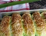 Cheese Pandan Potato Bread langkah memasak 18 foto