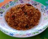 Nasi Goreng Sosis Cabe Hijau langkah memasak 5 foto